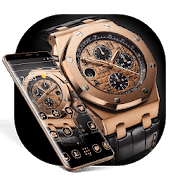Gold Luxury Legendary Watch Theme