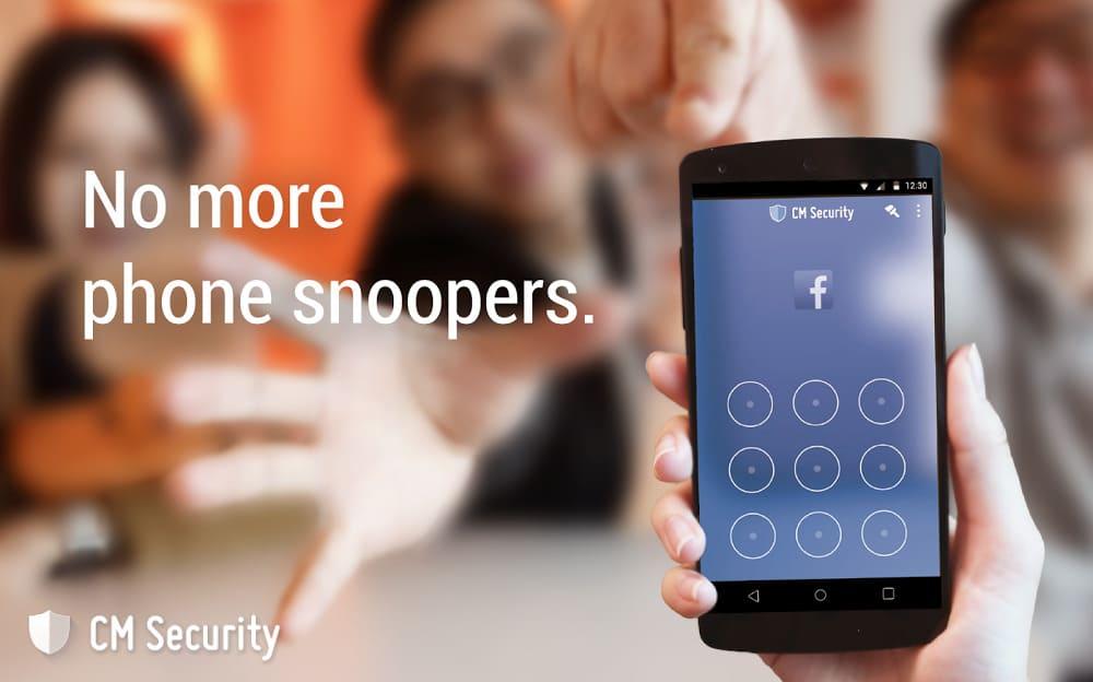 Скриншоты для CM Security