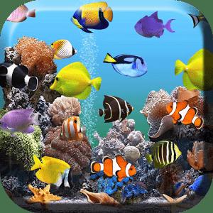 обои на рабочий стол аквариумные рыбки двигающиеся скачать