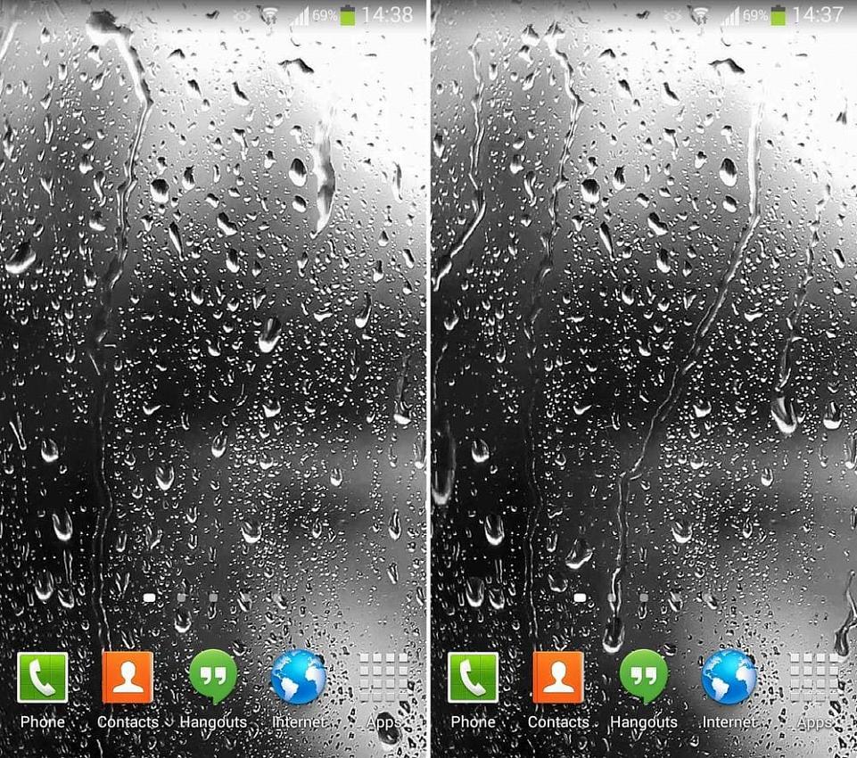 Raindrops Live Wallpaper