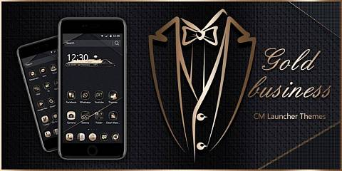 Скриншоты к Gold Black Neat Theme