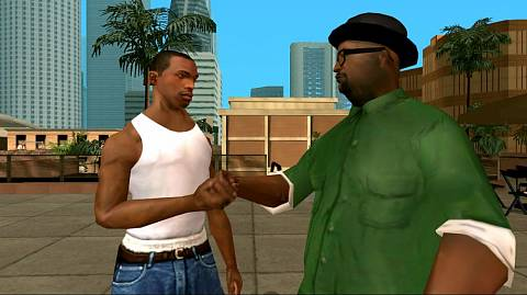 Скриншоты к Grand Theft Auto: San Andreas