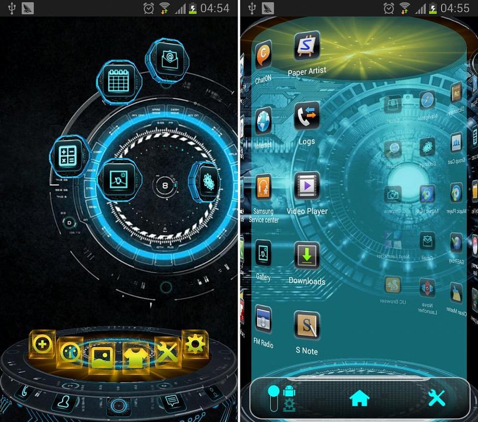 Скачать 3 D Launcher Для Android 2.3